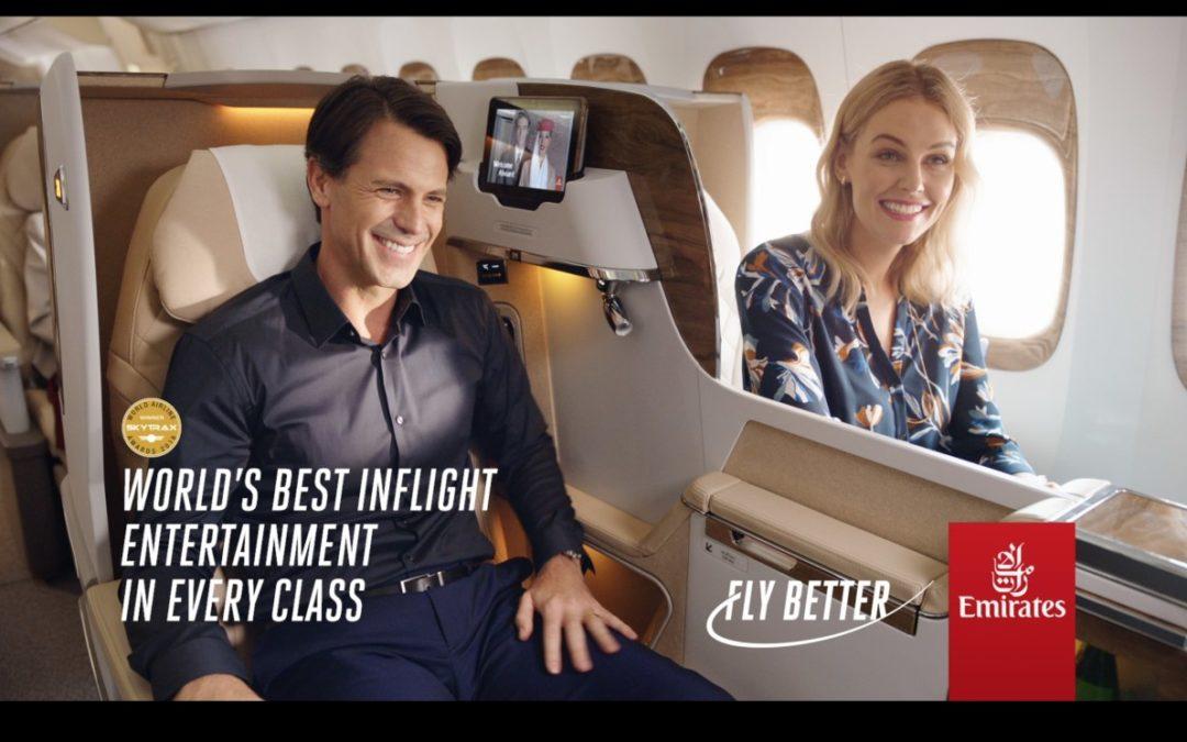 """Neue """"Fly Better""""-Kampagne von Emirates"""
