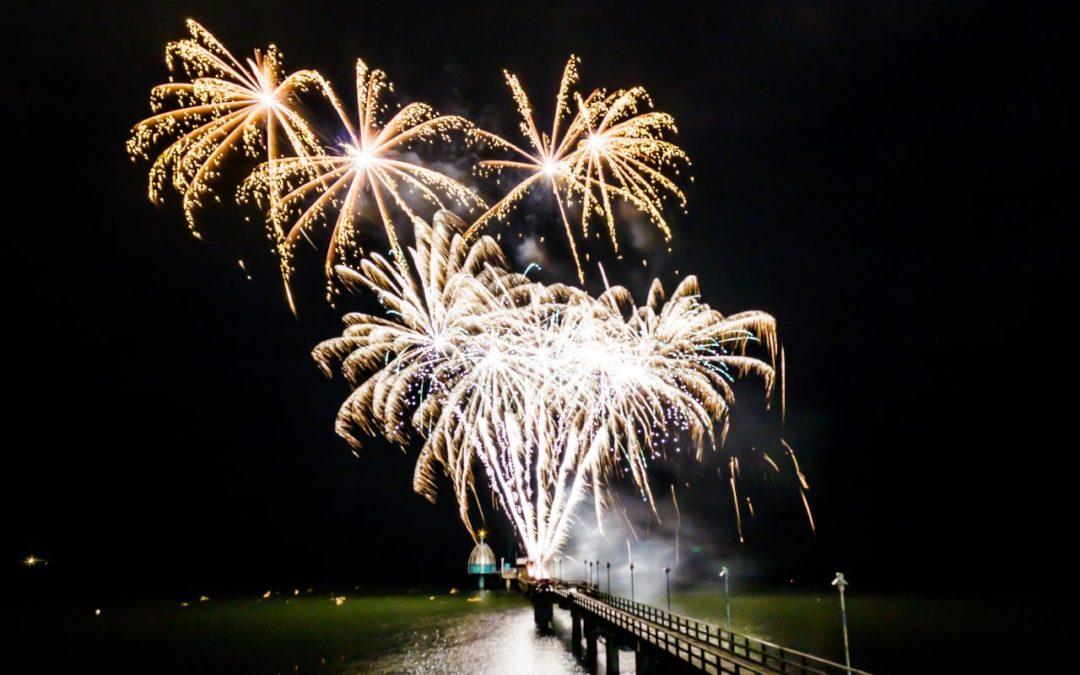 "Feuerwerkfestival ""Pyro Games"" 2018 in Zinnowitz"