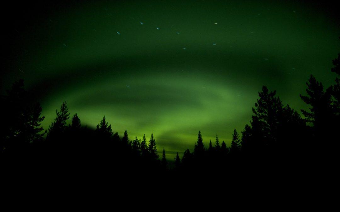 Nordlicht-Fotokurs im nordschwedischen Umeå