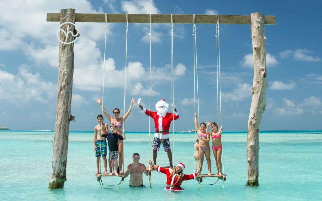 Weihnachten mit Südsee-Feeling im Kandima Maldives