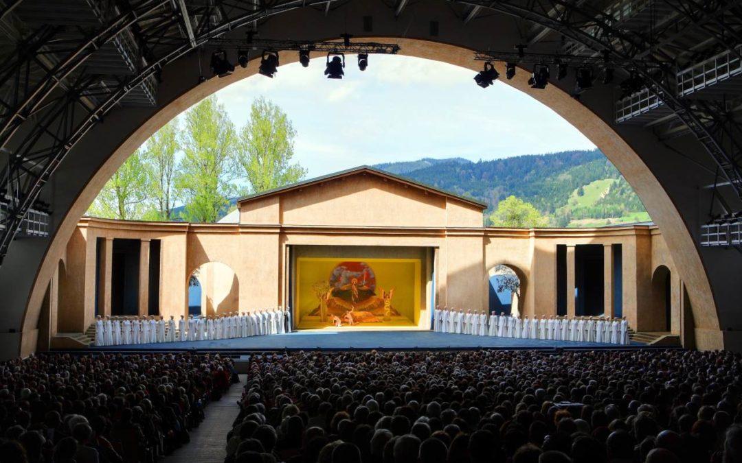 Blick hinter die Kulissen der Passionsspiele in Oberammergau