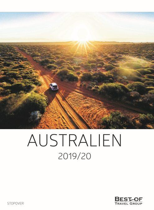 Best of Travel Group stellt neuen Australien-Katalog für 2019/20 vor