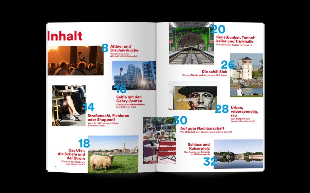 Neuer Stadtführer für Düsseldorf zeigt die besten Plätze