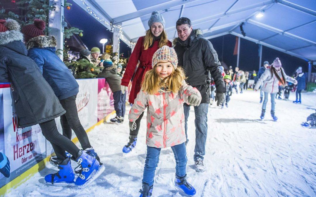 Eisbahn am Neustädter Hafen – Hafenheimat on Ice