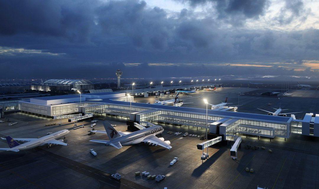 Terminal 1 am Flughafen München kann erweitert werden