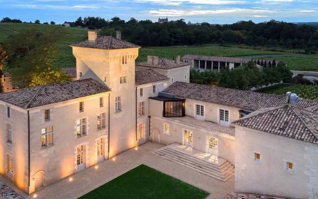 Fünf Sterne für Hotel Lalique von Château Lafaurie-Peyraguey
