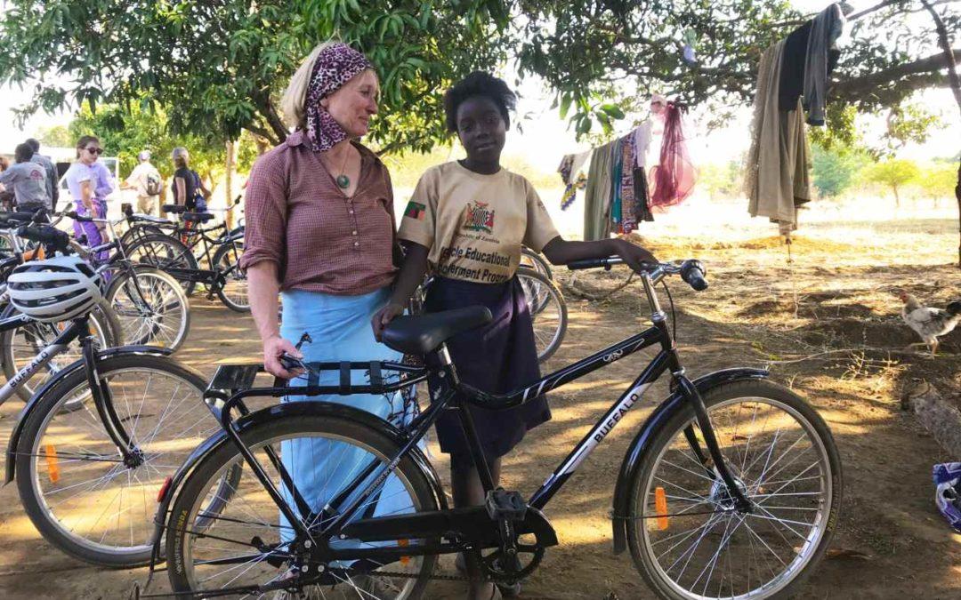 Landpartie Reisen unterstützt Fahrradprojekt für Kinder in Sambia
