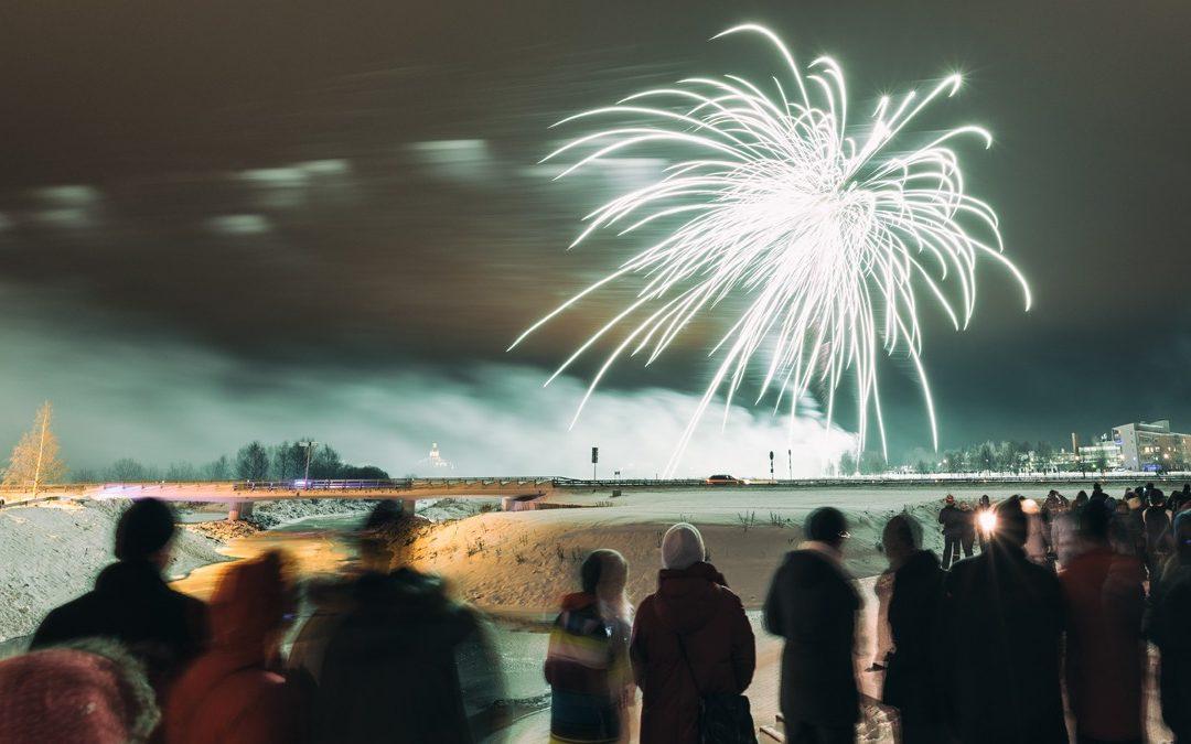Schweden: In Haparanda/Tornio wird Silvester zweimal gefeiert