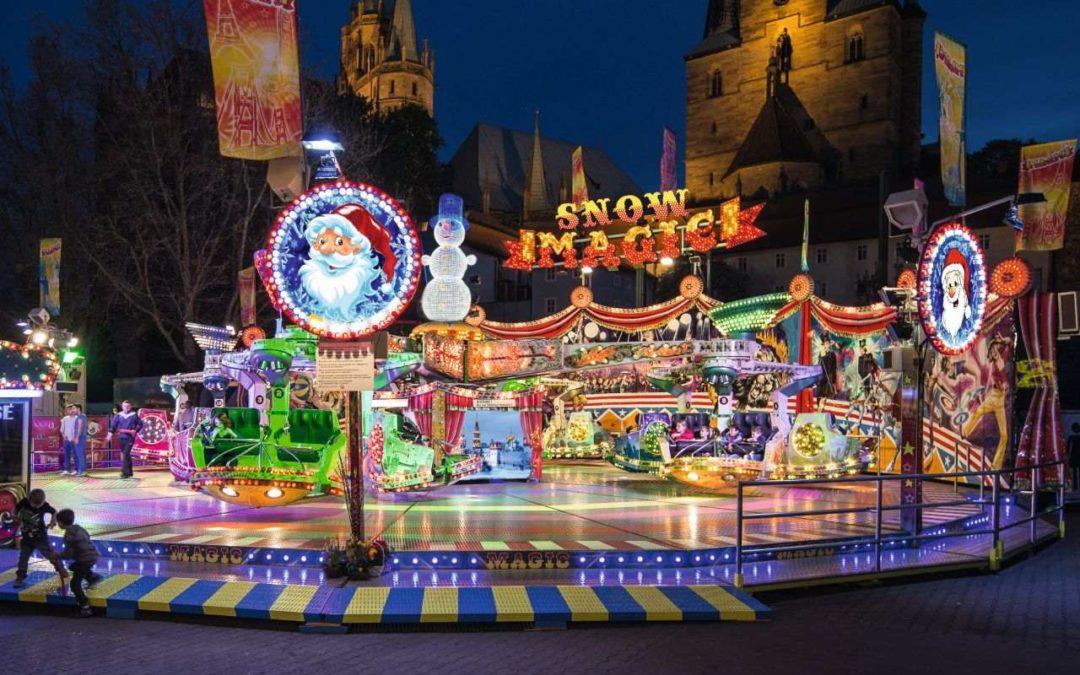 Größte mobile Geisterbahn der Welt beim Cranger Weihnachtszauber