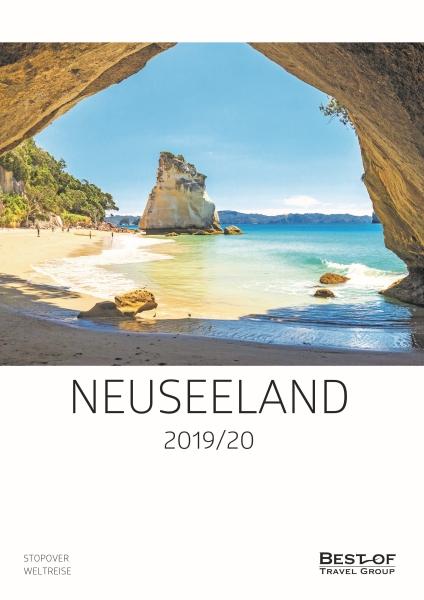 Erstmals eigener Neuseeland-Katalog der Best of Travel Group