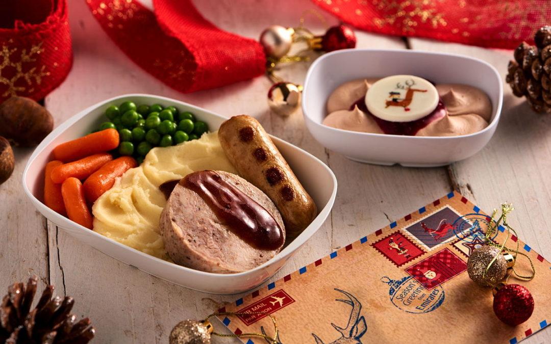 Weihnachtliche Menüs bei Emirates