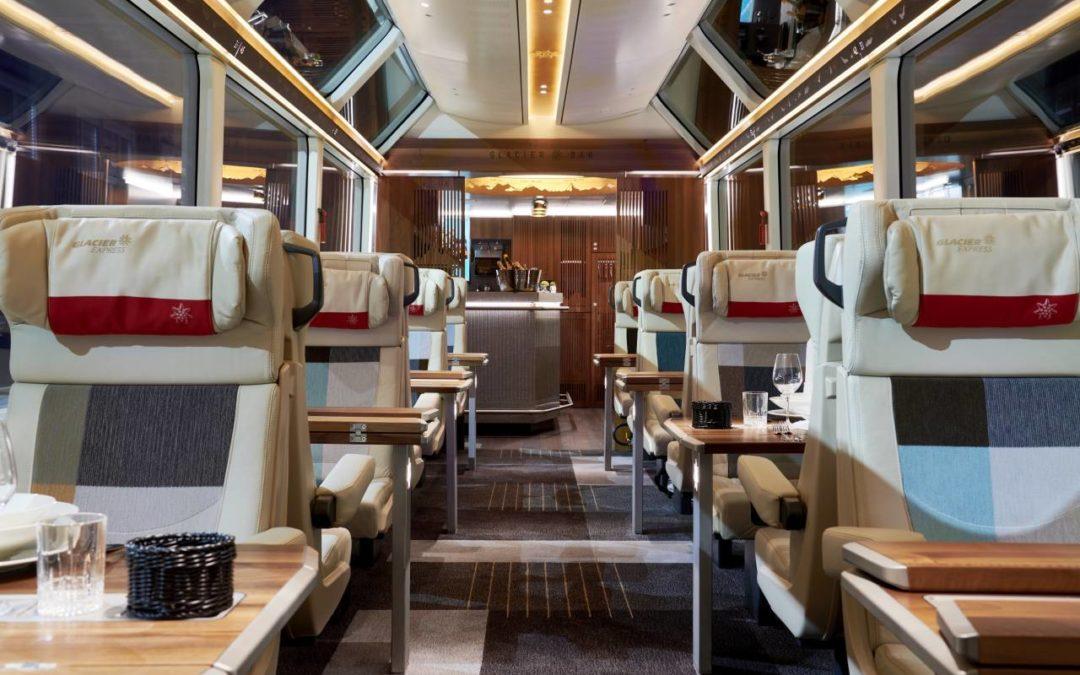 Excellence Class – neue Luxusklasse im Glacier Express