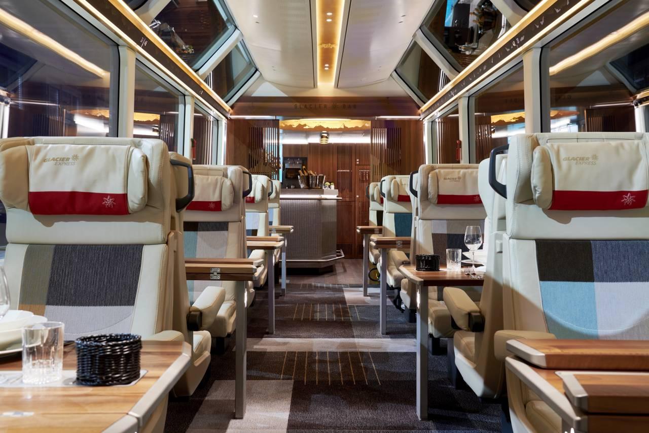 Excellence Class   neue Luxusklasse im Glacier Express