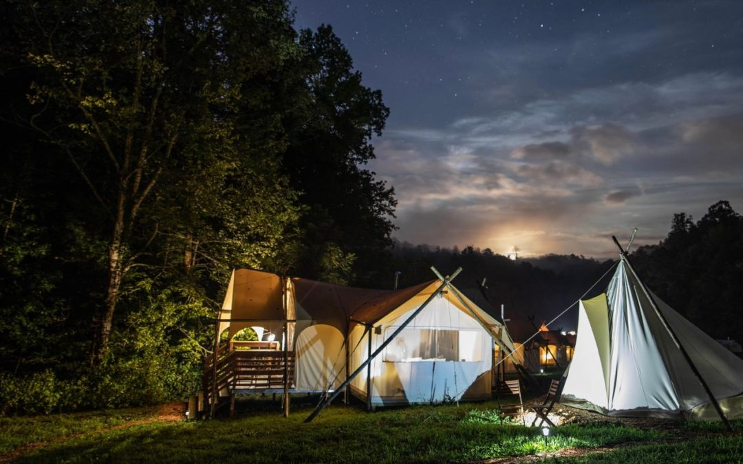 Glamping Reisen in die Nationalparks der USA