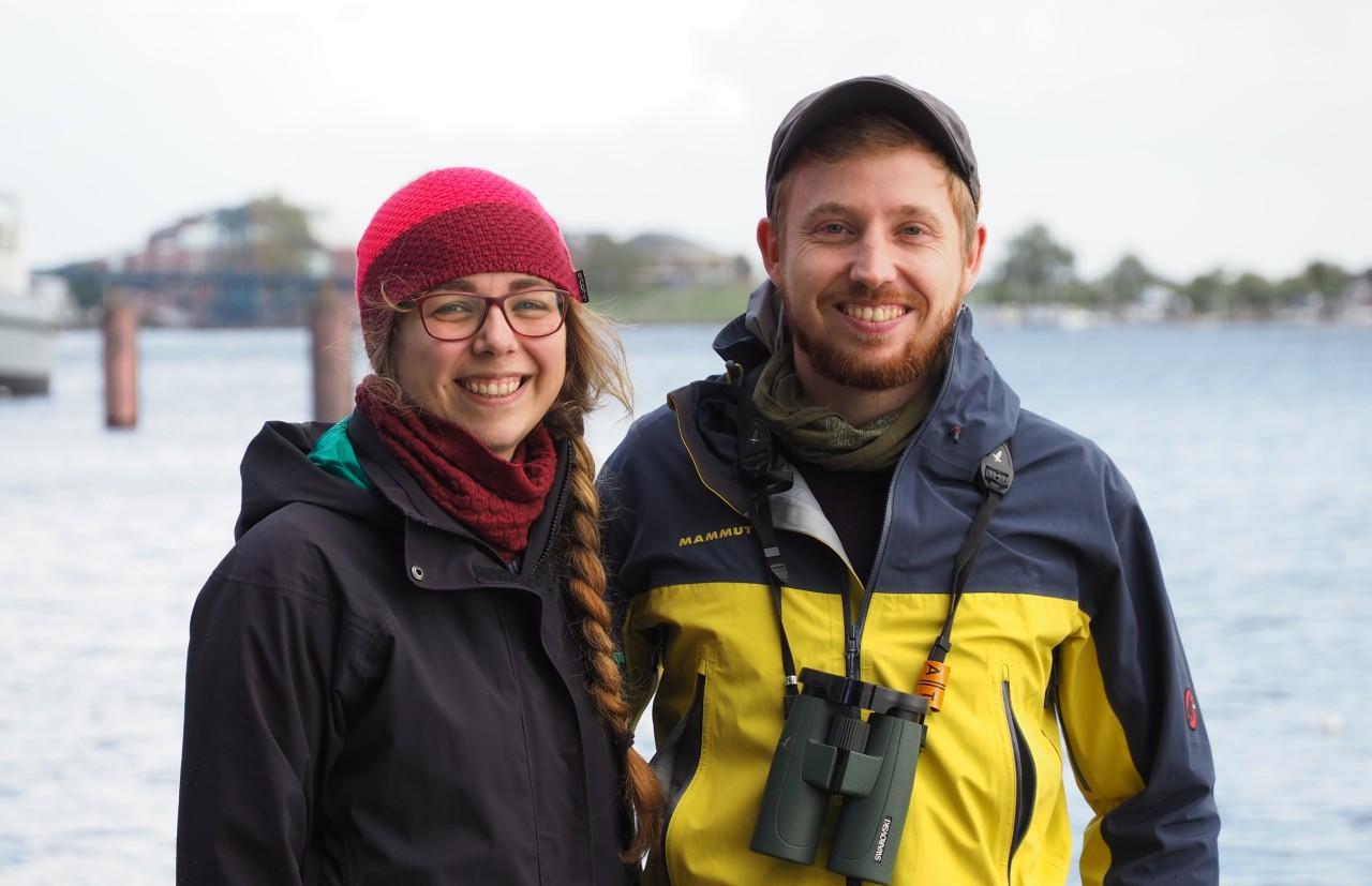Jan Kalusche und Katrin Meier Nationalpark Wattenmeer