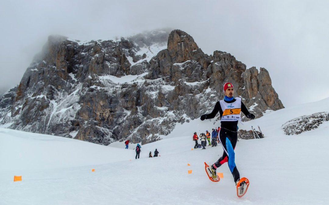 Europameisterschaften der Schneeschuh-Läufer 2019 in St. Johan in Tirol