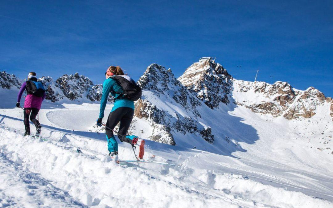 Einstieg ins Skitourengehen im Skitourenpark am Pitztaler Gletscher