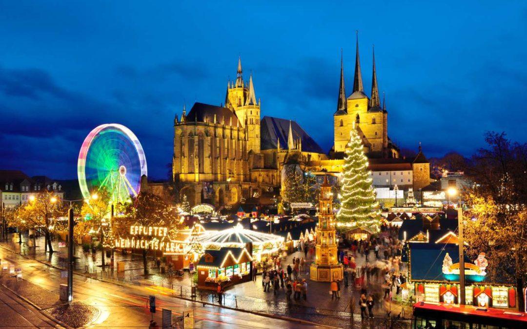 Bester Weihnachtsmarkt in Deutschland liegt in Erfurt