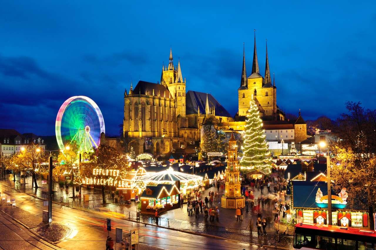 Bester Weihnachtsmarkt Deutschland.Bester Weihnachtsmarkt In Deutschland Liegt In Erfurt