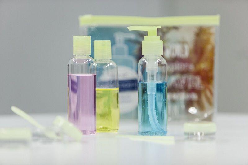 Vermeidung von Plastikmüll im Handgepäck