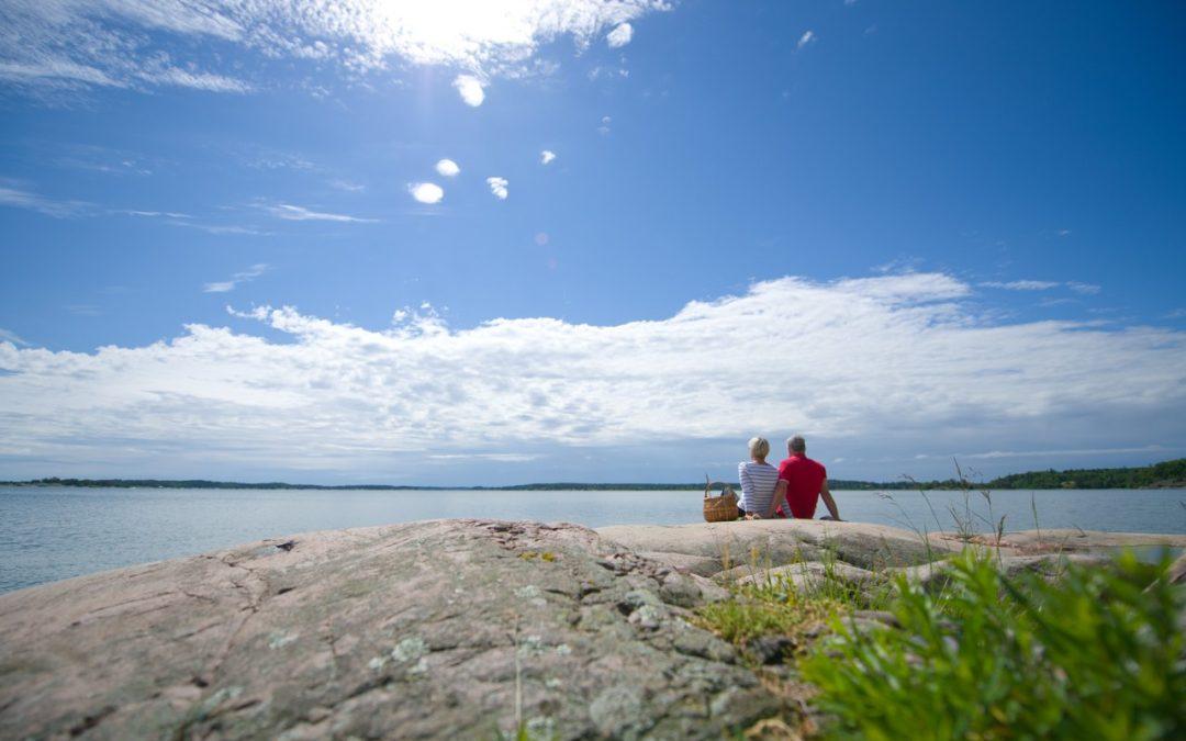 Stille Plätze gegen Stress in der Natur von Östergötland