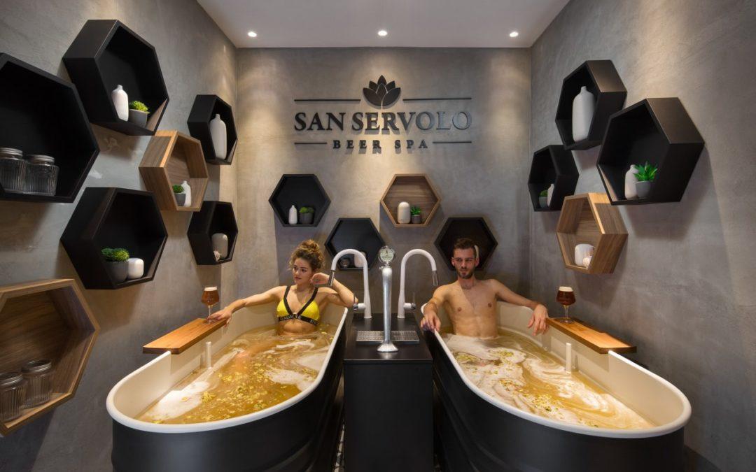 """Privatbrauerei San Servolo eröffnet erstes """"Bier-Spa"""" in Istrien"""