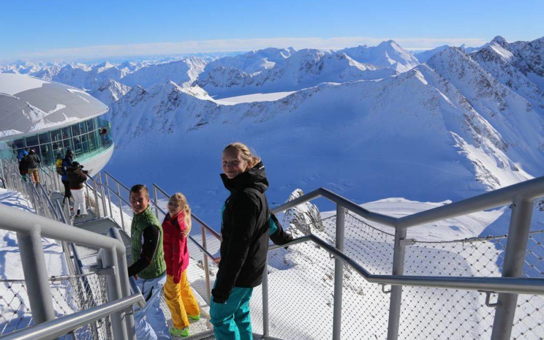 Gletscherskigebiet Pitztal feiert 35. Geburtstag mit großem Programm
