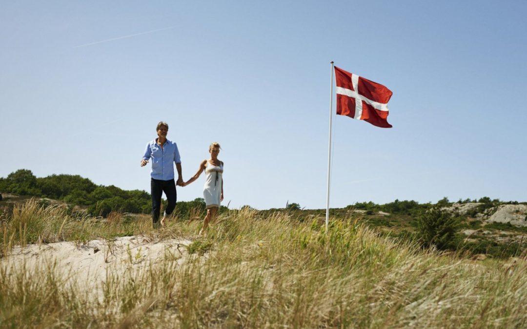 Dänische Flagge feiert 800. Geburtstag