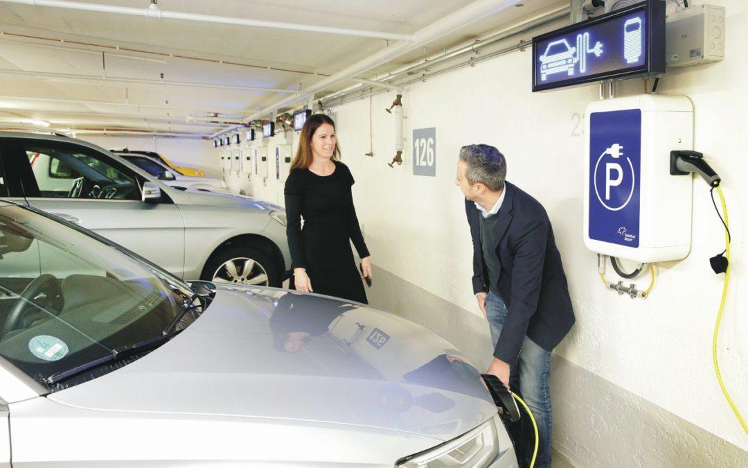 Flughafen Frankfurt: E-Parkplätze mit Stellplatzgarantie