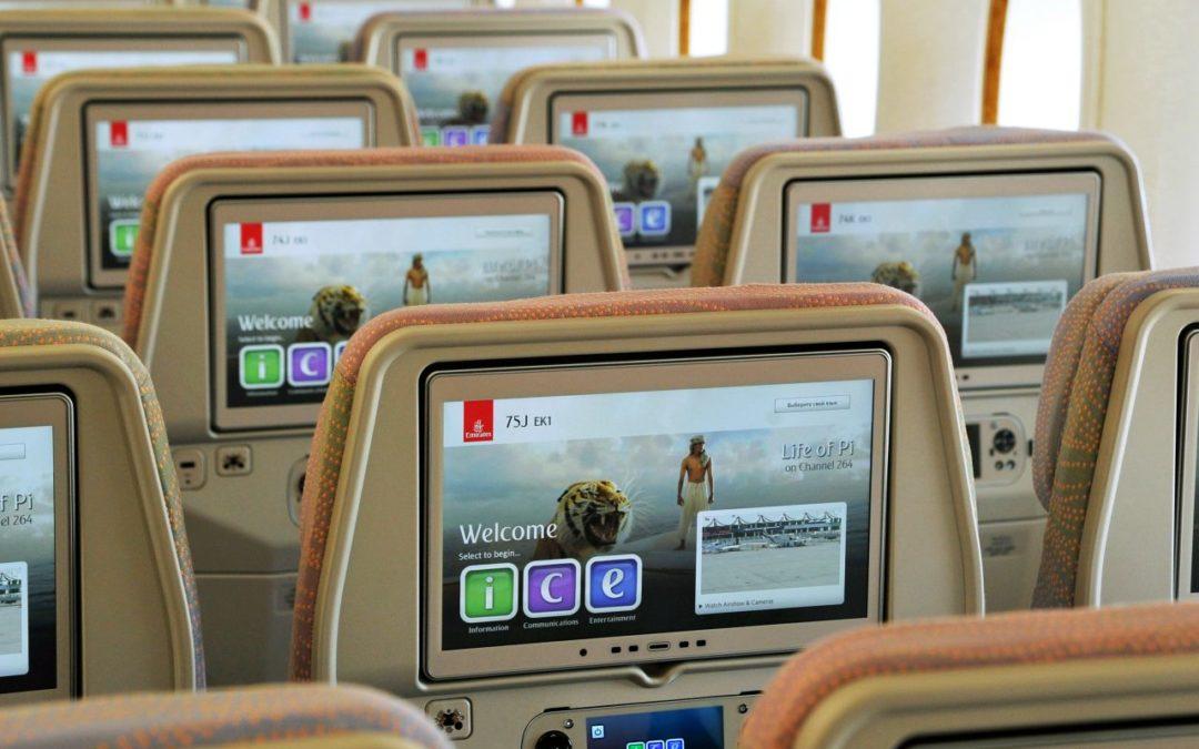 Personalisierte Playlists bei Emirates