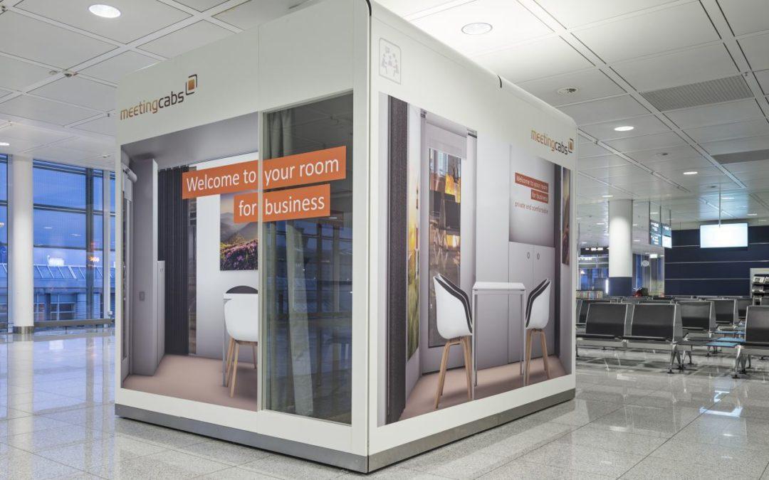 Innovative Besprechungskabinen am Flughafen München
