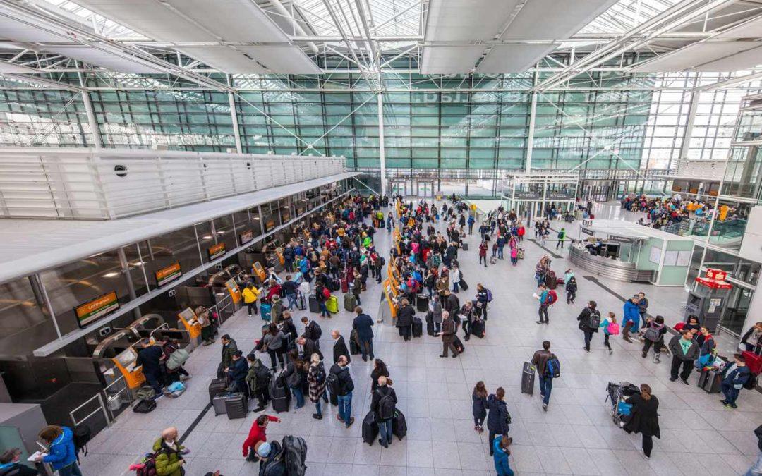 Über 46 Millionen Passagiere am Flughafen München im Jahr 2018