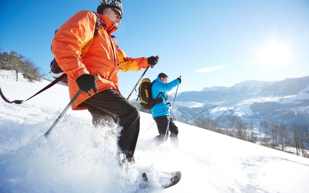 Schneeschuhwanderungen und Airboarden in Oberstaufen
