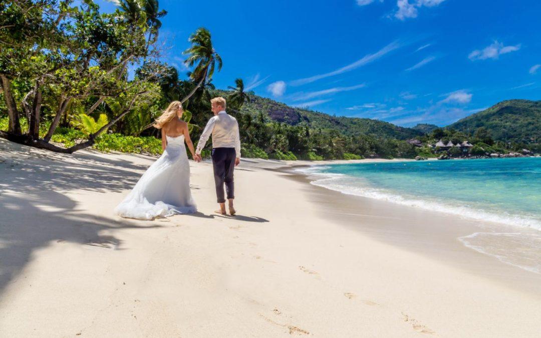 Traumziele im Hochzeitsreisen-Programm von Dertour