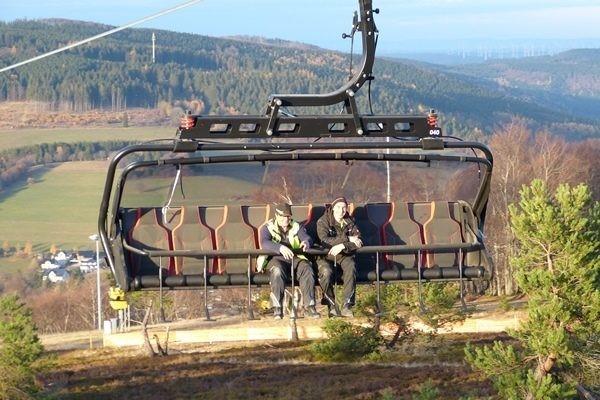 Neue 8er-Sesselbahn für Skifahrer und Mountainbiker in Willingen