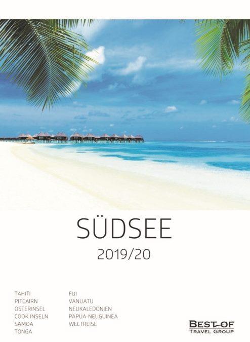 Best of Travel Group veröffentlicht erstmals separaten Südsee-Katalog