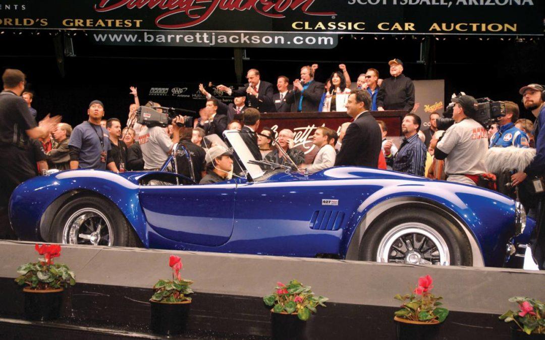 Auto-Auktion für Nostalgie-Liebhaber in Scottsdale