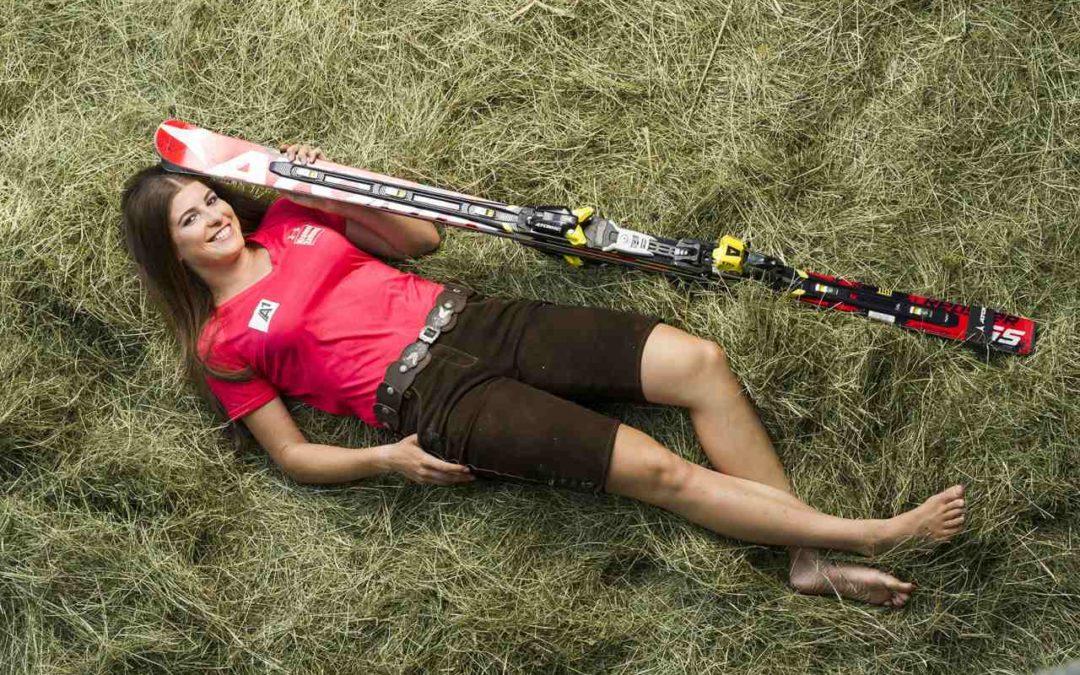Ski-Rennläuferin Christina Ager im Interview zu ihrer Heimat dem Wilden Kaiser