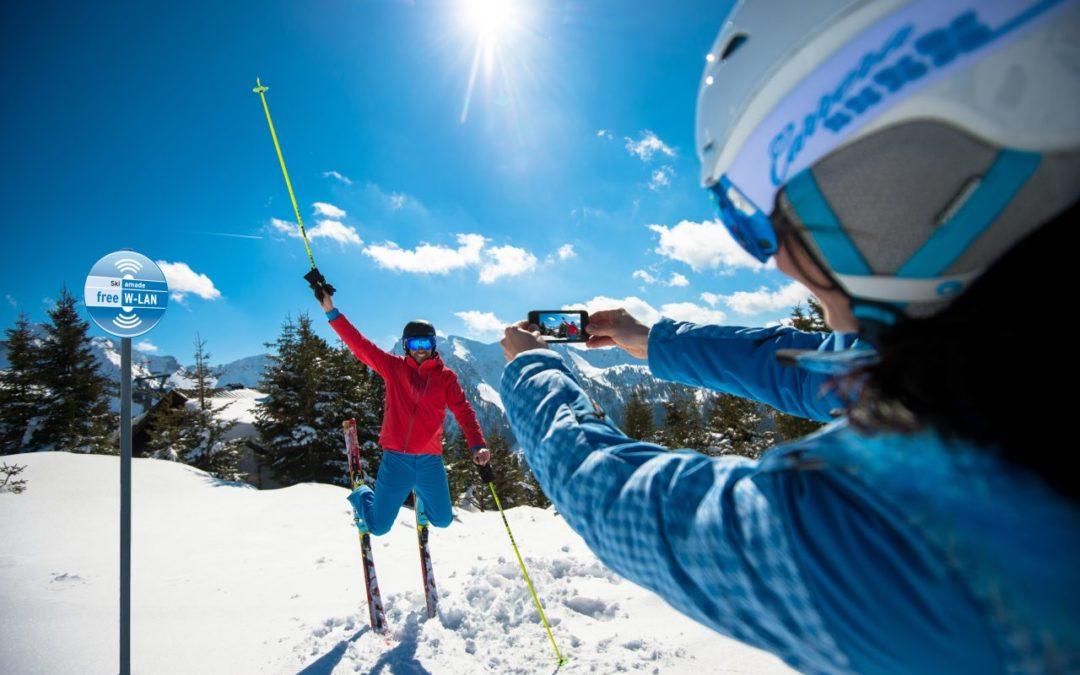"""App """"Ski amadé Guide"""" mit fotorealistischen Karten"""