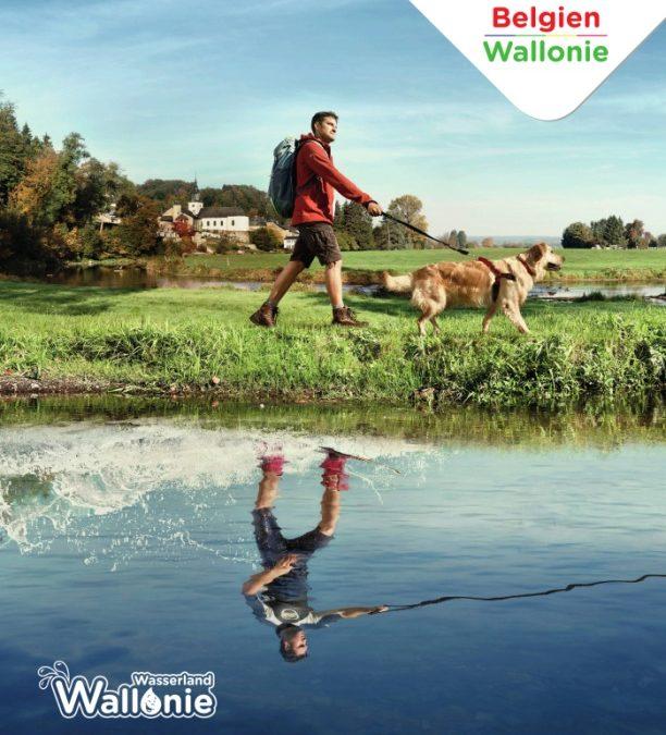 """Wallonie gibt sich 2019 das Motto """"Wasserland"""""""