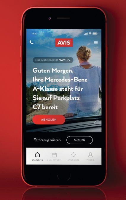 Avis Autovermietung erweitert Funktionen der Avis App