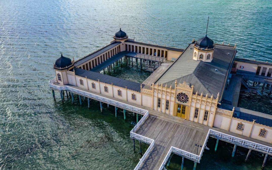 Schwedens spektakulärste Kaltbadehäuser