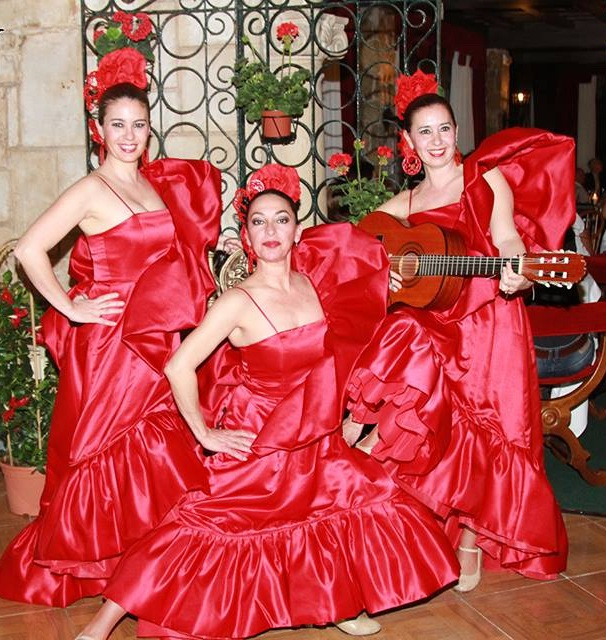 Illetas: Große Frühlingsfiesta mit Flamenco im Hotel Bonsol