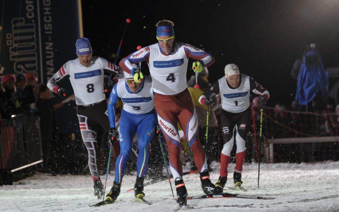 Galtür Nordic Night Race 2019 mit Simon Schempp und Laura Dahlmeier