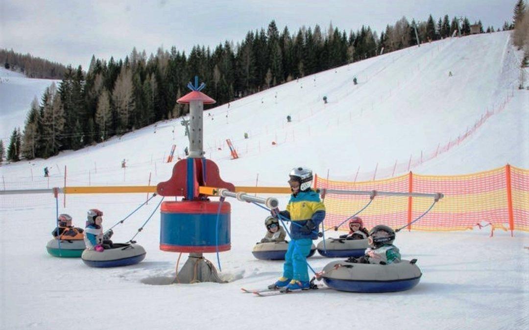 Skigebiet Hinterstoder eröffnet größtes Kinderland in Oberösterreich