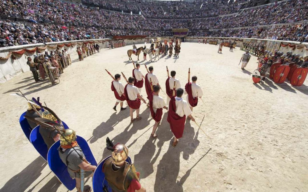 10 Jahre Römische Spiele in Nîmes
