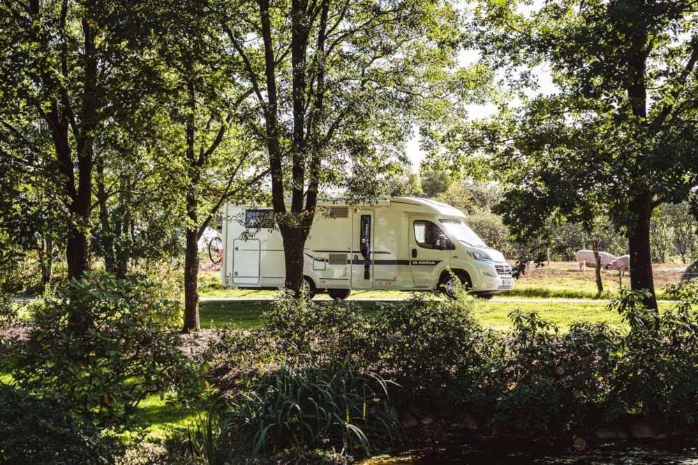 """Individuelle Stellplätze für Wohnmobile in Dänemark mit """"Pintrip-Vignette"""""""