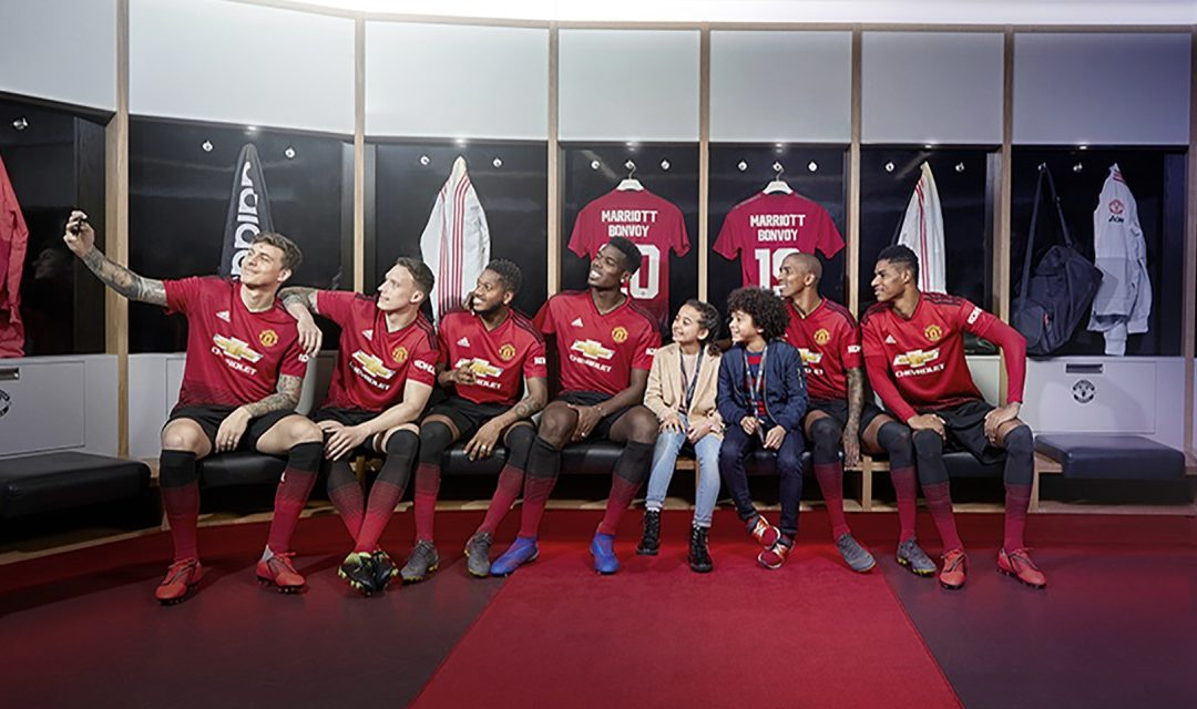 Marketing-Partnerschaft zwischen Marriott und Manchester United