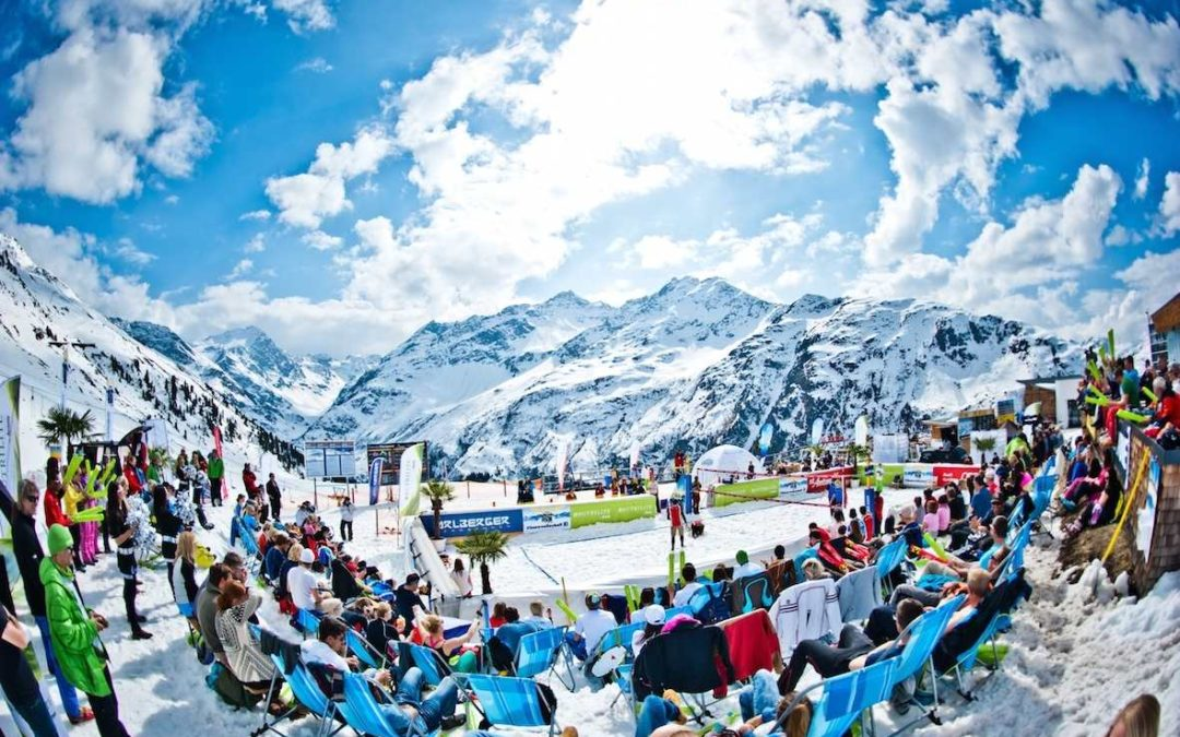 "Finale der ""Snow Volleyball European Tour 2019"" in St. Anton am Arlberg"