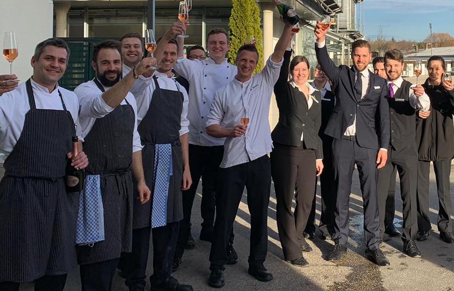 Restaurant Aubergine in Starnberg auch 2019 mit Michelin-Stern